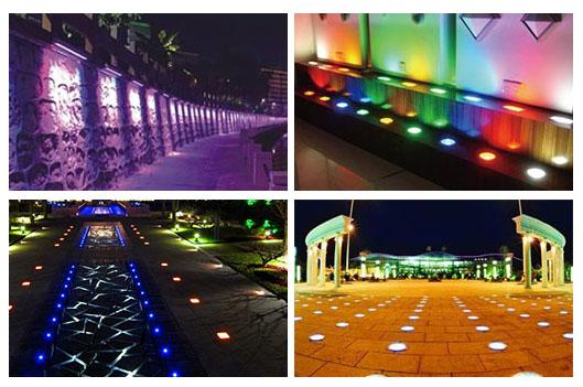 led underground light application