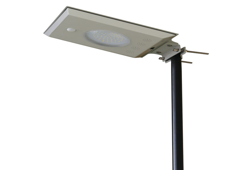 5W all in one intergrated solar street light