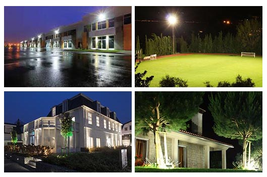 led floodlight application