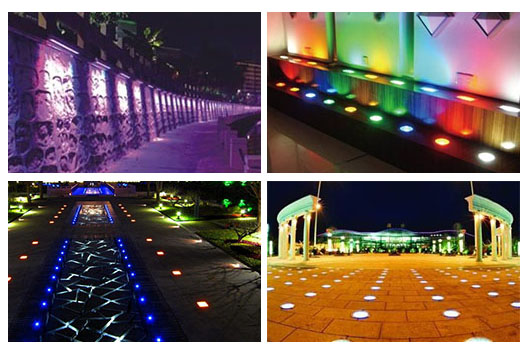 led underground light application
